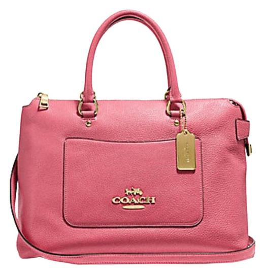 Preload https://img-static.tradesy.com/item/25007798/coach-kelsey-emma-large-satchel-purse-31466-pink-leather-shoulder-bag-0-1-540-540.jpg