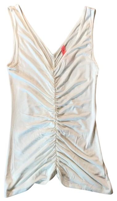 Preload https://img-static.tradesy.com/item/25007884/eight-sixty-white-ruched-tank-topcami-size-8-m-0-1-650-650.jpg