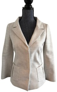 Valentino Jacket Size 4 White and Lavender Blazer