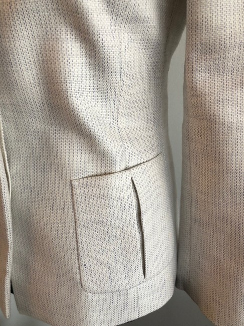 Valentino Jacket Size 4 White and Lavender Blazer Image 3