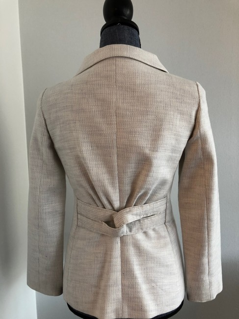Valentino Jacket Size 4 White and Lavender Blazer Image 4