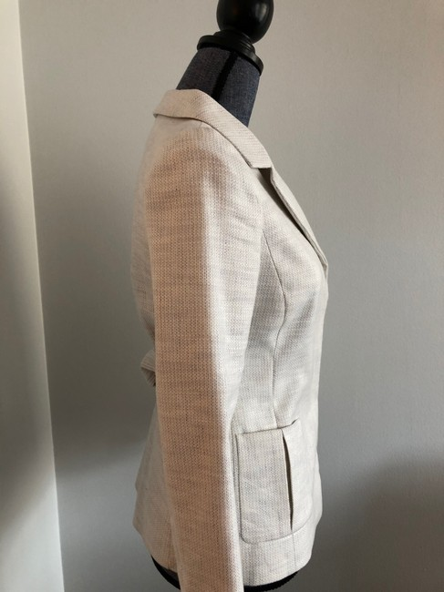 Valentino Jacket Size 4 White and Lavender Blazer Image 5