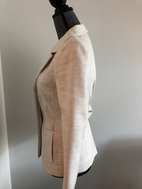 Valentino Jacket Size 4 White and Lavender Blazer Image 7