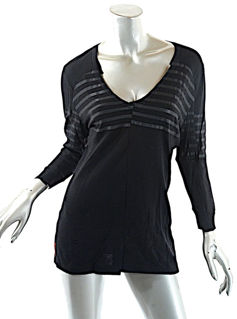 Prada V Neck Striped Sweater Image 0