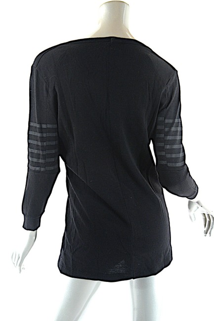 Prada V Neck Striped Sweater Image 3