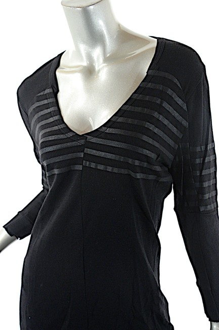 Prada V Neck Striped Sweater Image 4