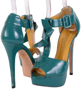 Charlotte Olympia Teal Pumps
