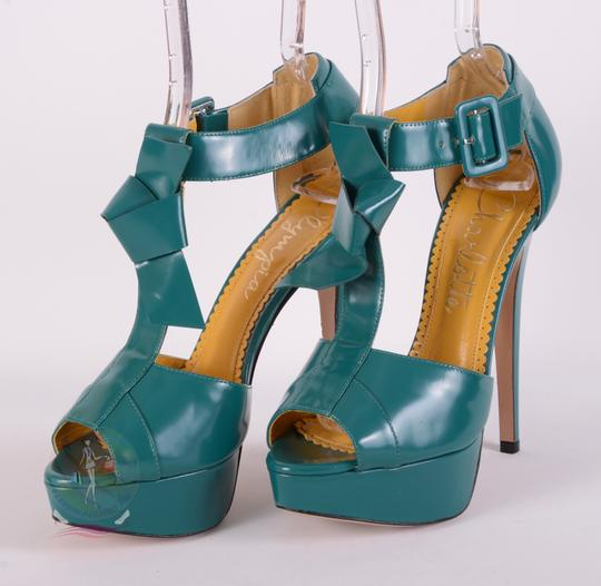 Charlotte Olympia Teal Pumps Image 4
