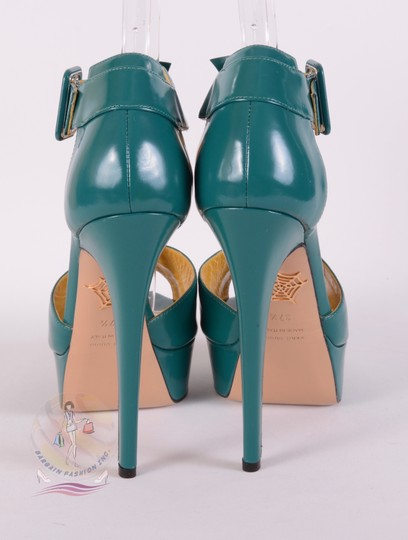 Charlotte Olympia Teal Pumps Image 5
