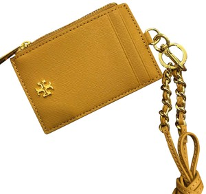 Tory Burch Card holder with neck strap