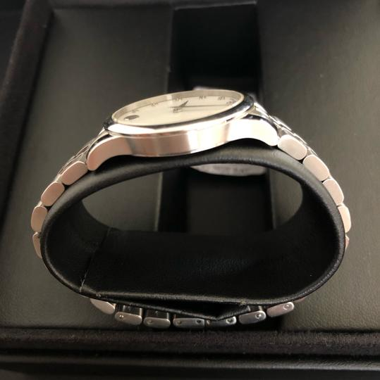 Movado BOX SET Movado Museum mother of Pearl Diamond Dial Steel Women's Watch Image 2