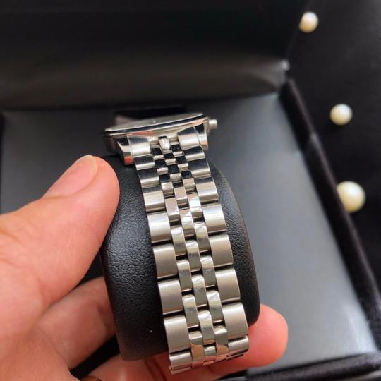 Movado BOX SET Movado Museum mother of Pearl Diamond Dial Steel Women's Watch Image 4