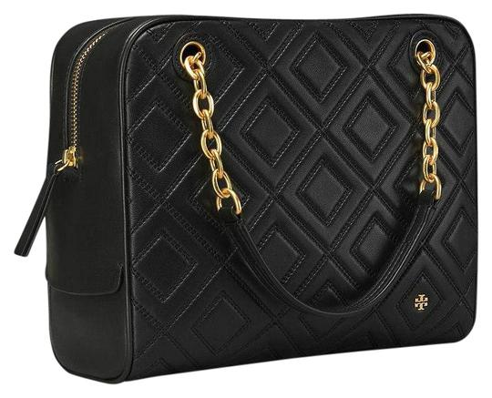 Preload https://img-static.tradesy.com/item/25008067/tory-burch-fleming-new-purse-quilted-black-leather-tote-0-2-540-540.jpg