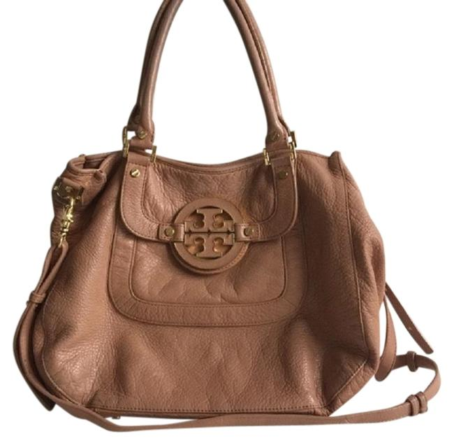 Item - Amanda With Strap Pinkish Tan - See Details Leather Hobo Bag