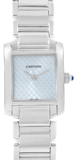 Preload https://img-static.tradesy.com/item/25008115/cartier-light-blue-tank-francaise-18k-white-gold-dial-ladies-2403-watch-0-1-540-540.jpg