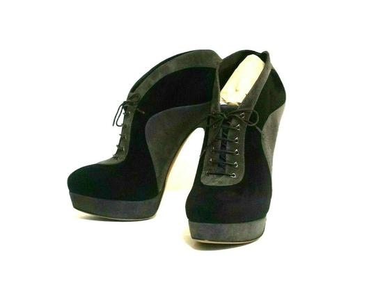 ALAA Sexy And Comfy Great Value Trusted Seller Black Grey Boots Image 2