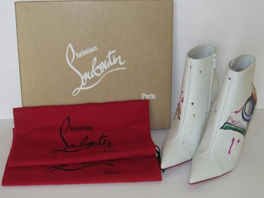 Christian Louboutin Red Sole With Box Multicolor Boots Image 2