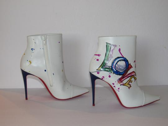 Christian Louboutin Red Sole With Box Multicolor Boots Image 4
