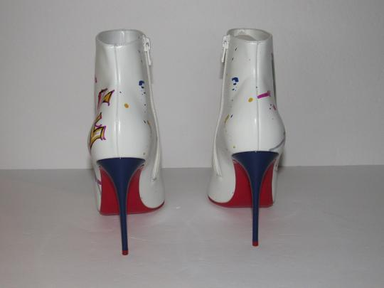 Christian Louboutin Red Sole With Box Multicolor Boots Image 6