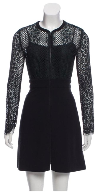 Preload https://img-static.tradesy.com/item/25008221/sandro-green-lace-zip-short-cocktail-dress-size-2-xs-0-1-650-650.jpg