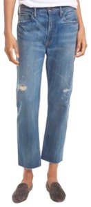 Vince Relaxed Fit Jeans-Distressed