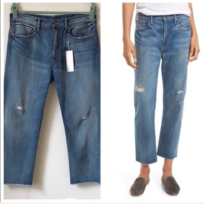 Vince Relaxed Fit Jeans-Distressed Image 1