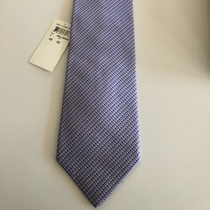 Burberry Lavender/Dark Purple/White Silk Tie/Bowtie