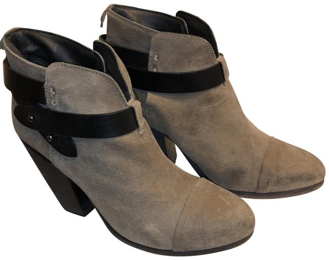 Item - Oatmeal Harrow Suede Ankle Boots/Booties Size US 8 Regular (M, B)
