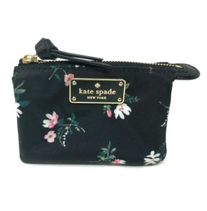 Kate Spade Kate Spade Mini Natasha Wilson Road Floral Black Multi Wallet