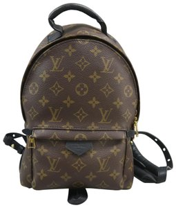 Louis Vuitton Lv Palm Springs Monogram Pm Canvas Backpack 08c6a44d56c31