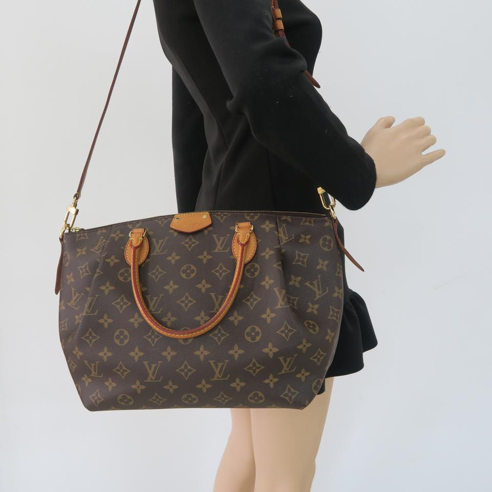 aa10b3a603d8 Louis Vuitton Lv Turenne Mm Monogram Canvas Satchel in Brown Image 11.  123456789101112