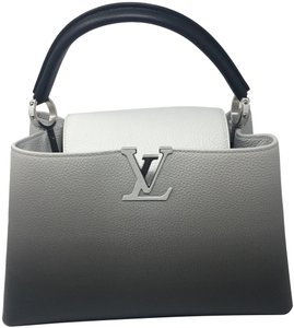 Louis Vuitton Satchel in gray and black