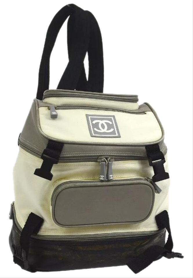 103a164c0c77 Chanel Backpack Cc Logo Sport Multi Color Canvas Backpack - Tradesy