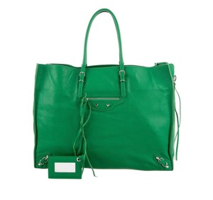 Balenciaga Tote in green