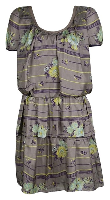 Preload https://img-static.tradesy.com/item/25009349/philosophy-di-alberta-ferretti-grey-floral-printed-silk-tiered-short-casual-dress-size-4-s-0-1-650-650.jpg