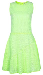 Dior short dress Green Viscose Polyester Silk on Tradesy
