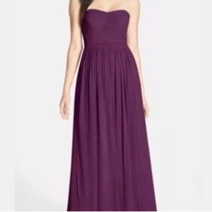 Jenny Yoo Black Currant Aidan Convertible Gown Modern Bridesmaid/Mob Dress Size 4 (S)