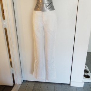 Banana Republic Boot Cut Pants white