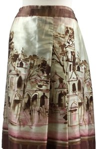 Pierre Cardin Skirt Cream Brown