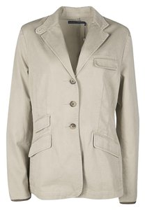 Ralph Lauren Cotton Leather Pea Coat