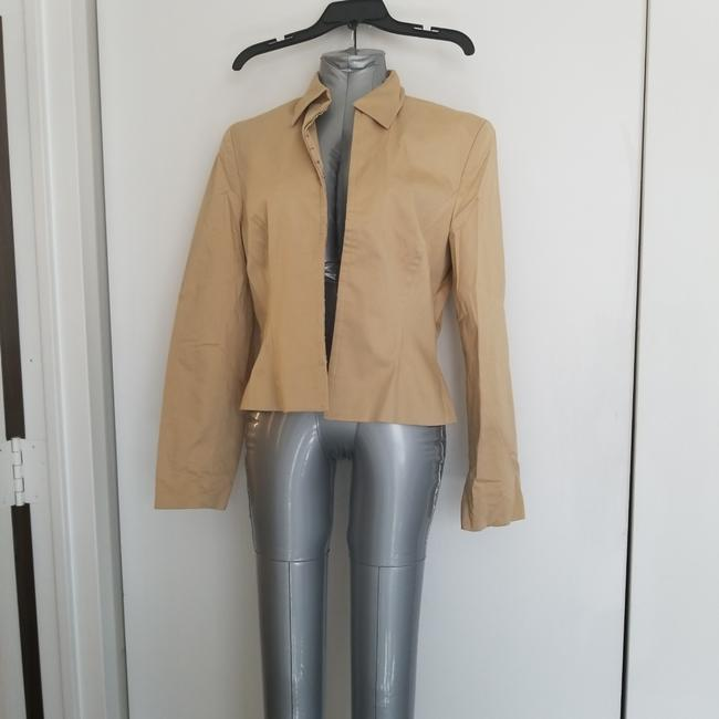 Item - Tan Jacket Size 10 (M)