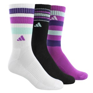 adidas Outdoor ClimaLite Retro II Socks - 3-Pack (Shoe Sz 5-10)