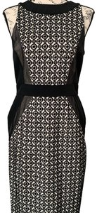 black and white Maxi Dress by Maggy London