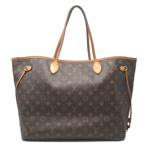 Louis Vuitton Neverfull Gm Monogram Tote in Brown