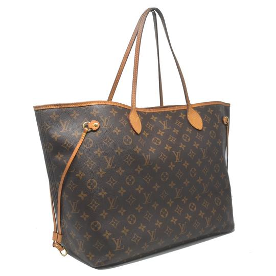 Louis Vuitton Neverfull Gm Monogram Tote in Brown Image 1