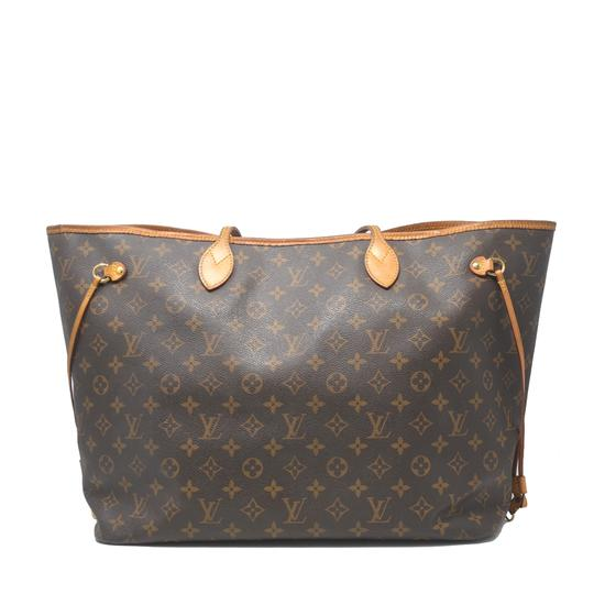 Louis Vuitton Neverfull Gm Monogram Tote in Brown Image 2