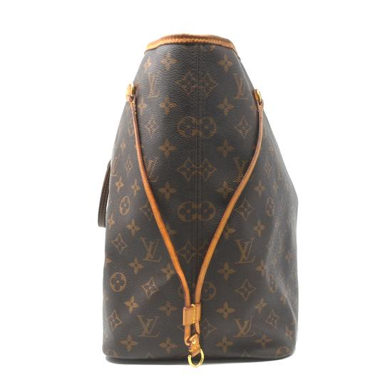 Louis Vuitton Neverfull Gm Monogram Tote in Brown Image 3