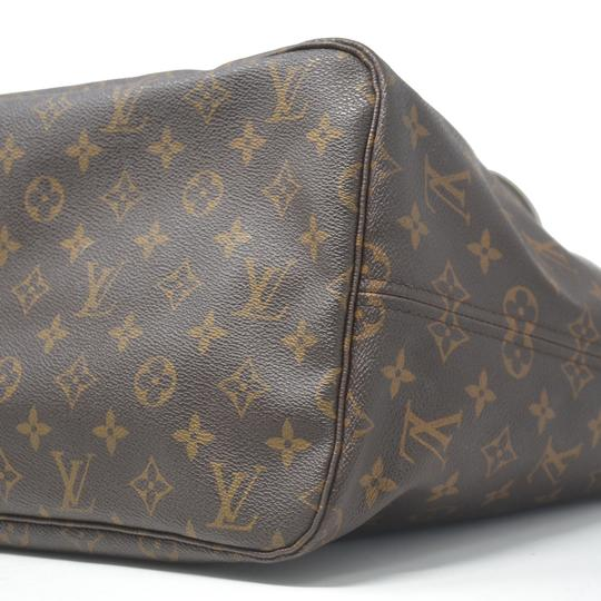 Louis Vuitton Neverfull Gm Monogram Tote in Brown Image 7