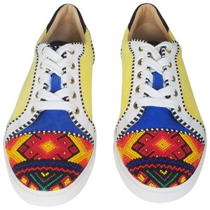 Christian Louboutin Yellow,Red,White multicolored Athletic