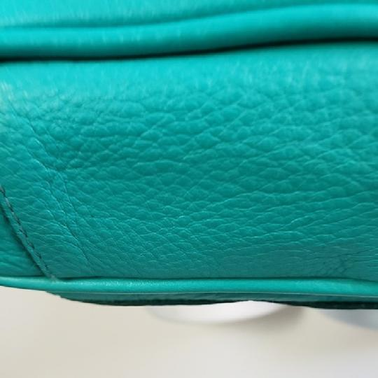 Brahmin Turquoise Leather New Without Cross Body Bag